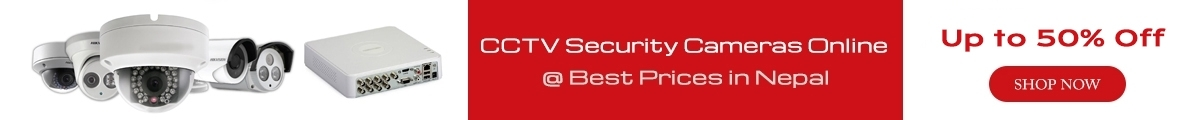 CCTV Security Cameras Online @ Best Prices in Nepal