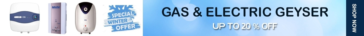 Gas & Electric Geyser