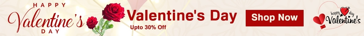 Valentine's Day Upto 50% Mega Discount